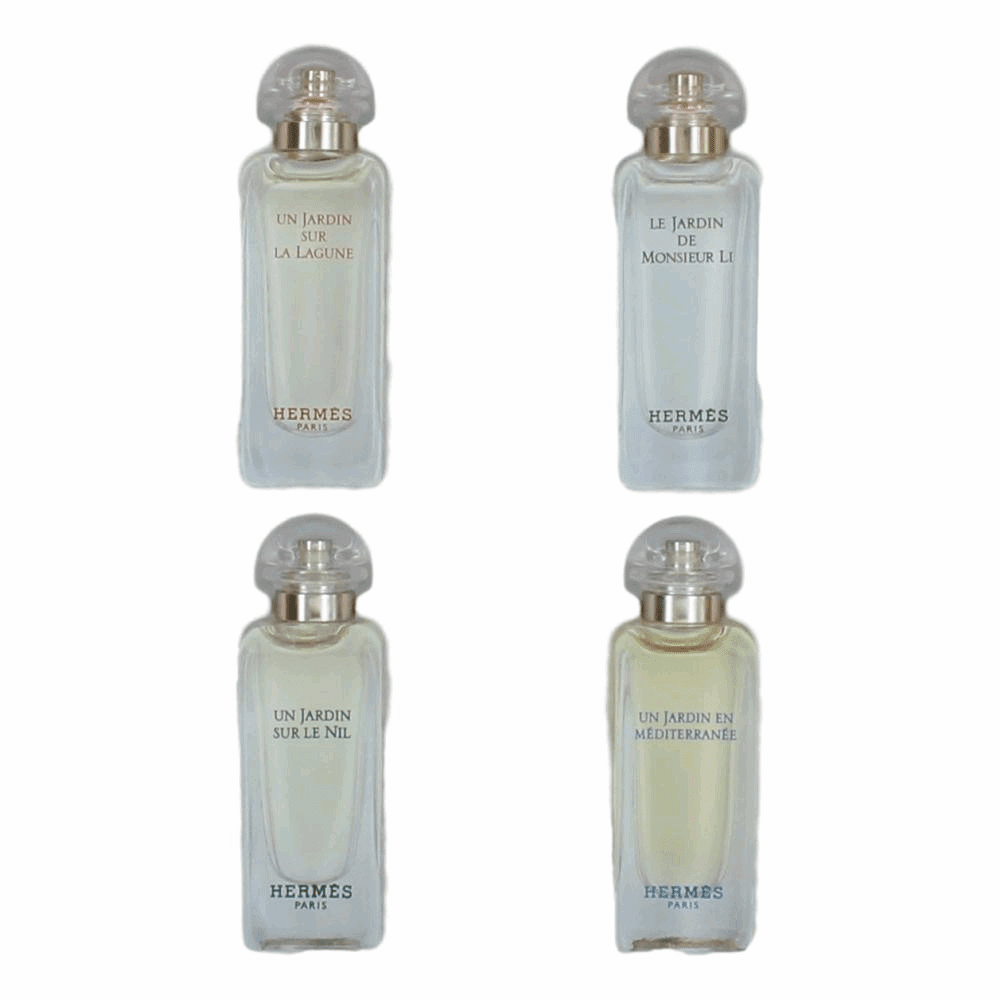 Hermes by Hermes, 4 Piece Jardins Discovery Set for Women