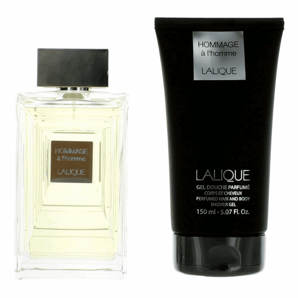 Hommage a L'Homme by Lalique, 2 Piece Gift Set for Men