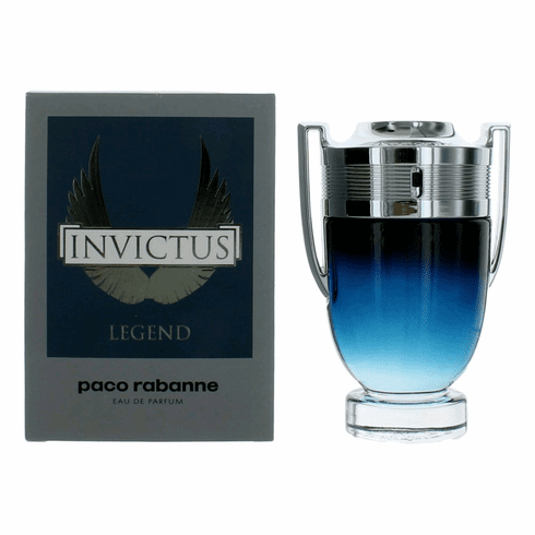 Invictus Legend by Paco Rabanne, 3.4 oz Eau De Parfum Spray for Men