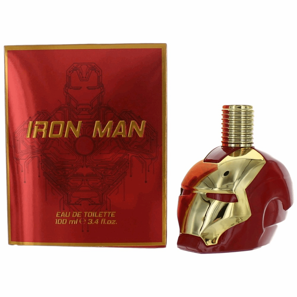 Iron Man by Marvel, 3.4 oz Eau De Toilette Spray for Men
