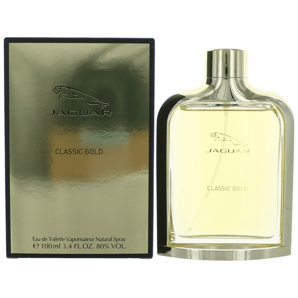 Jaguar Classic Gold by Jaguar, 3.4 oz Eau De Toilette Spray for Men