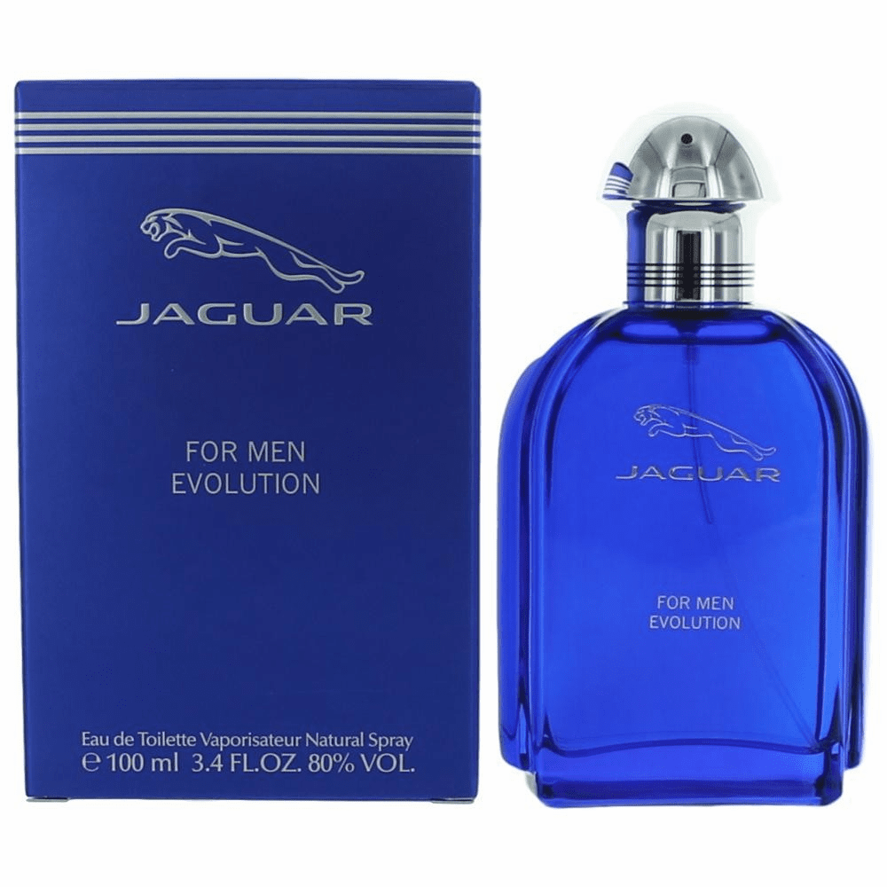 Jaguar Evolution by Jaguar, 3.4 oz Eau De Toilette Spray for Men