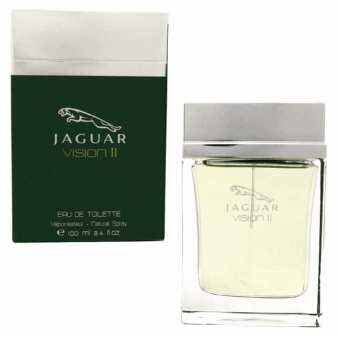 Jaguar Vision II by Jaguar, 3.4 oz Eau De Toilette Spray for Men
