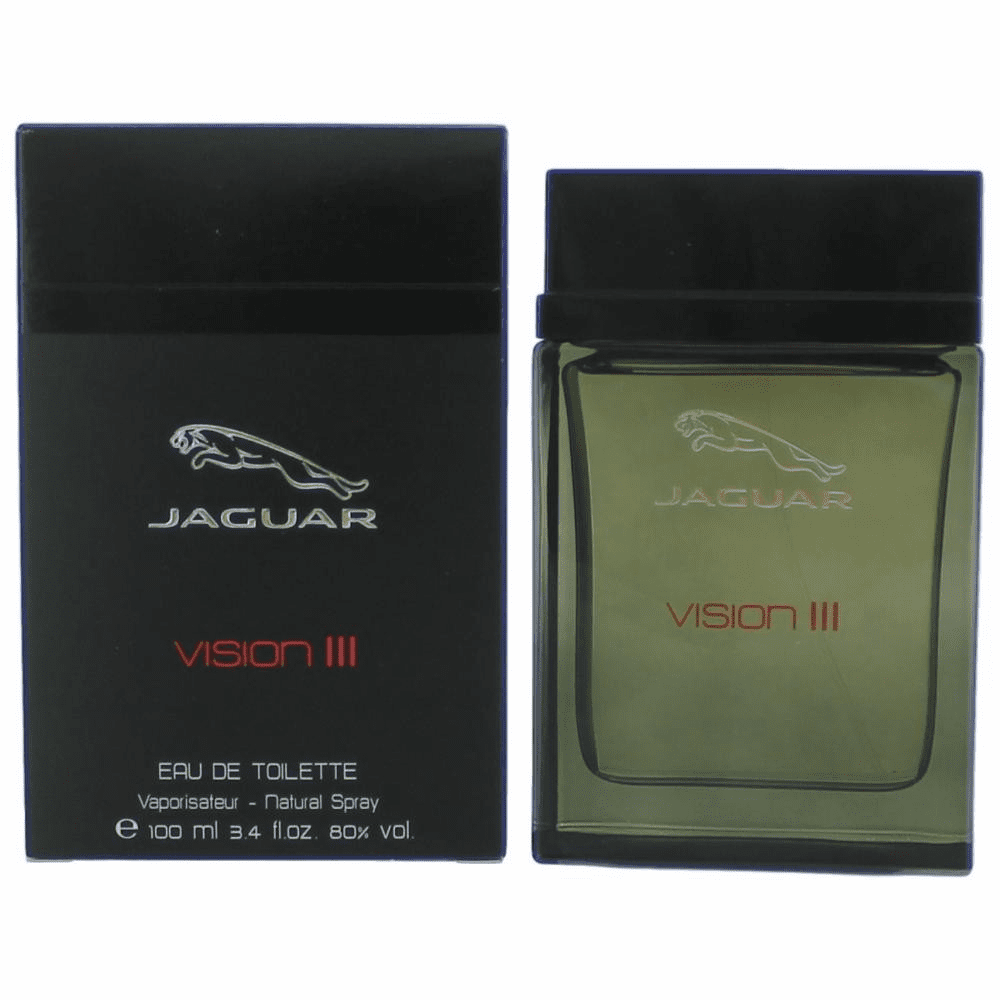Jaguar Vision III by Jaguar, 3.4 oz Eau De Toilette Spray for Men