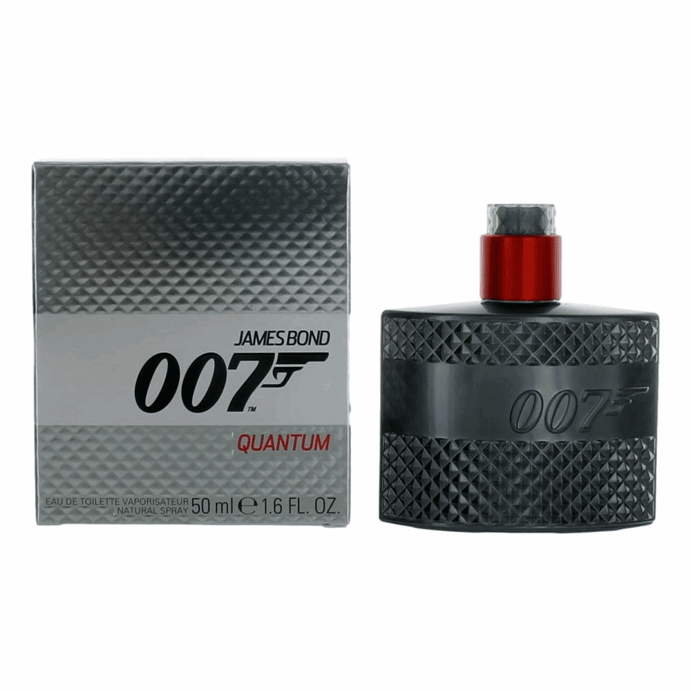 James Bond 007 Quantum by James Bond, 1.6 oz Eau de Toilette Spray for Men