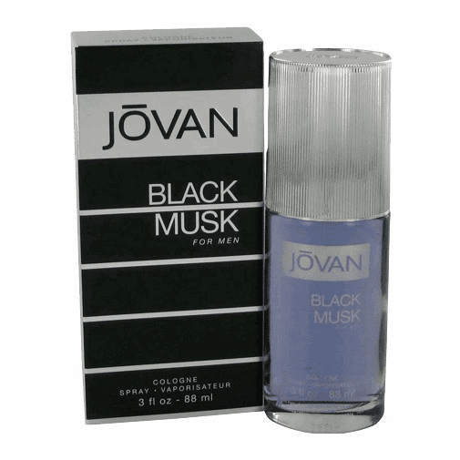 Jovan Black Musk by Jovan, 3 oz Cologne Spray for Men