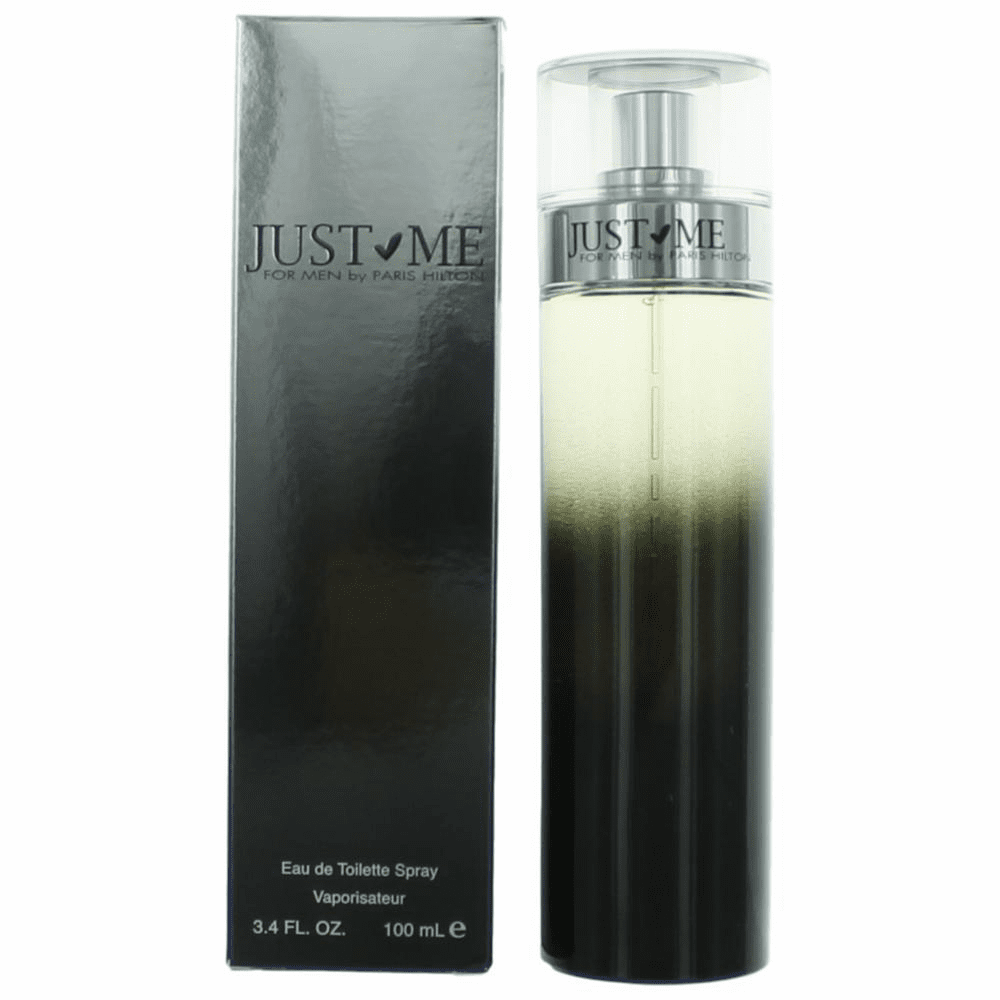Just Me by Paris Hilton, 3.4 oz  Eau De Toilette Spray for Men