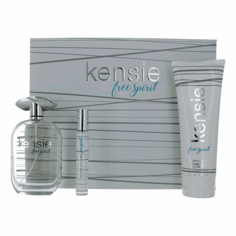 Kensie Free Spirit by Kensie, 3 Piece Gift Set for Women