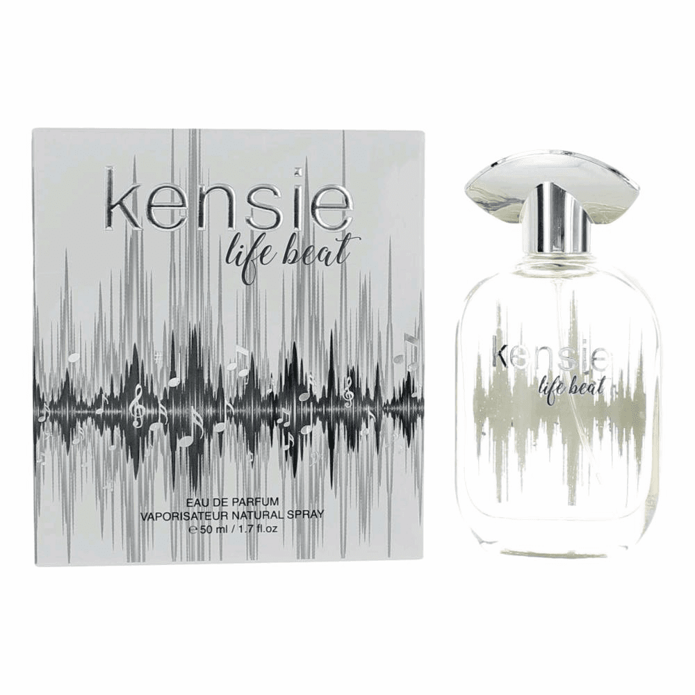 Kensie Life Beat by Kensie, 1.7 oz Eau De Parfum Spray for Women