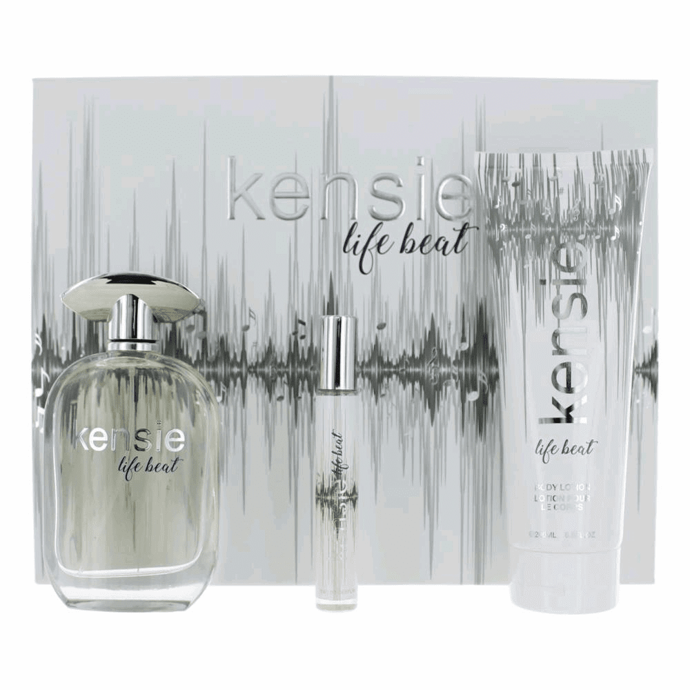 Kensie Life Beat by Kensie, 3 Piece Gift Set for Women