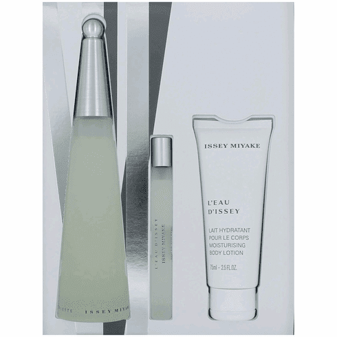 L'eau D'Issey by Issey Miyake, 3 Piece Gift Set for Women