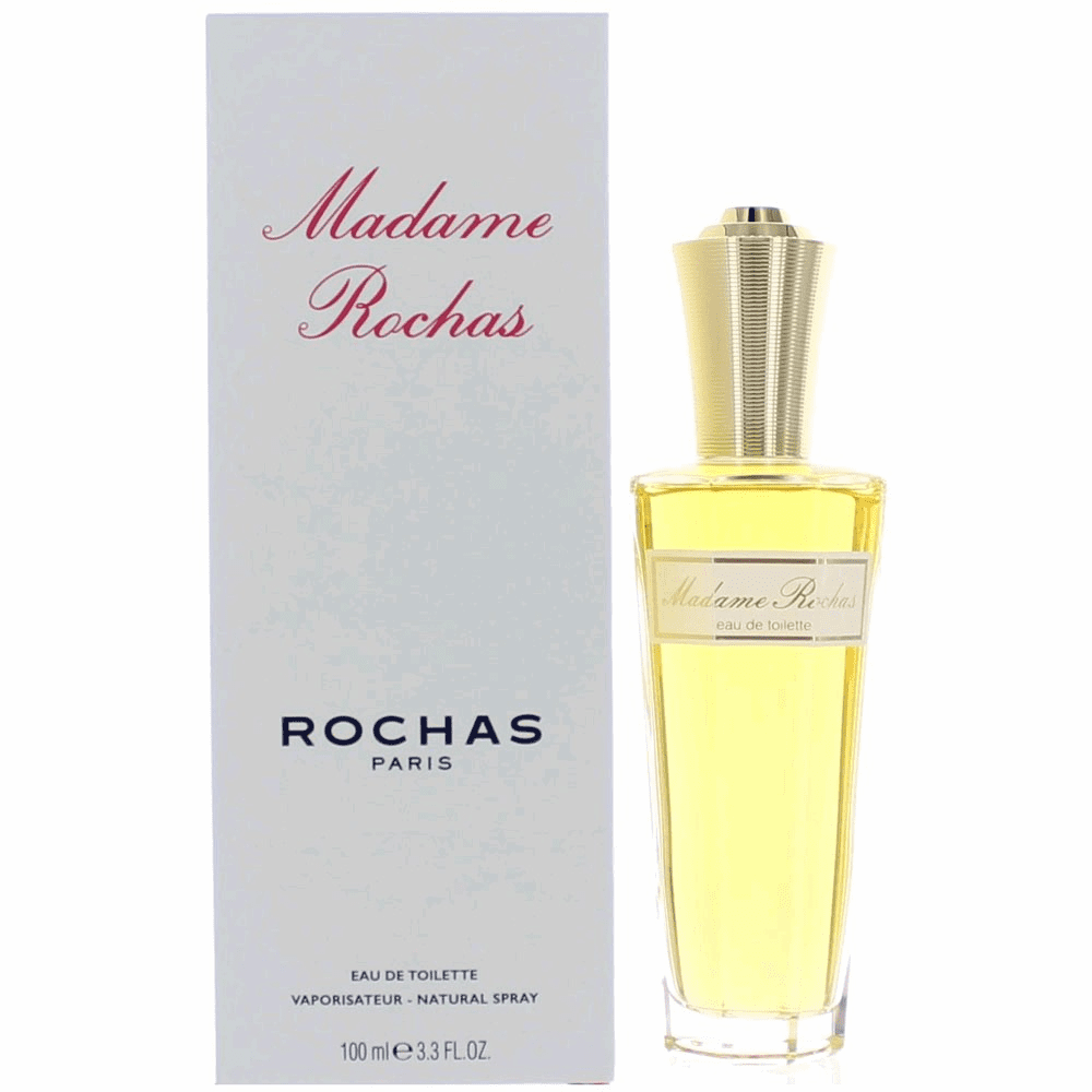 Madame Rochas by Rochas, 3.3 oz Eau De Toilette Spray for Women