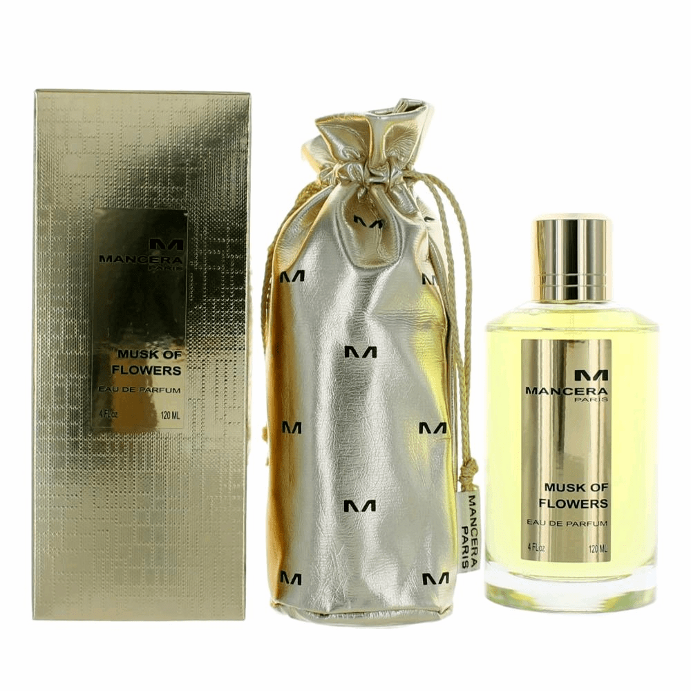 Mancera Musk of Flowers by Mancera, 4 oz Eau De Parfum Spray for Unisex
