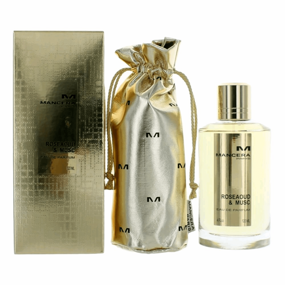 Mancera Roseaoud & Musc by Mancera, 4 oz Eau De Parfum Spray for Unisex