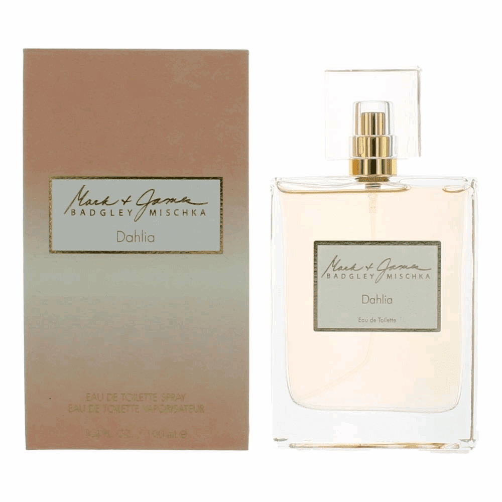 Mark & James Dahlia by Badgley Mischka, 3.4 oz Eau De Toilette Spray for Women