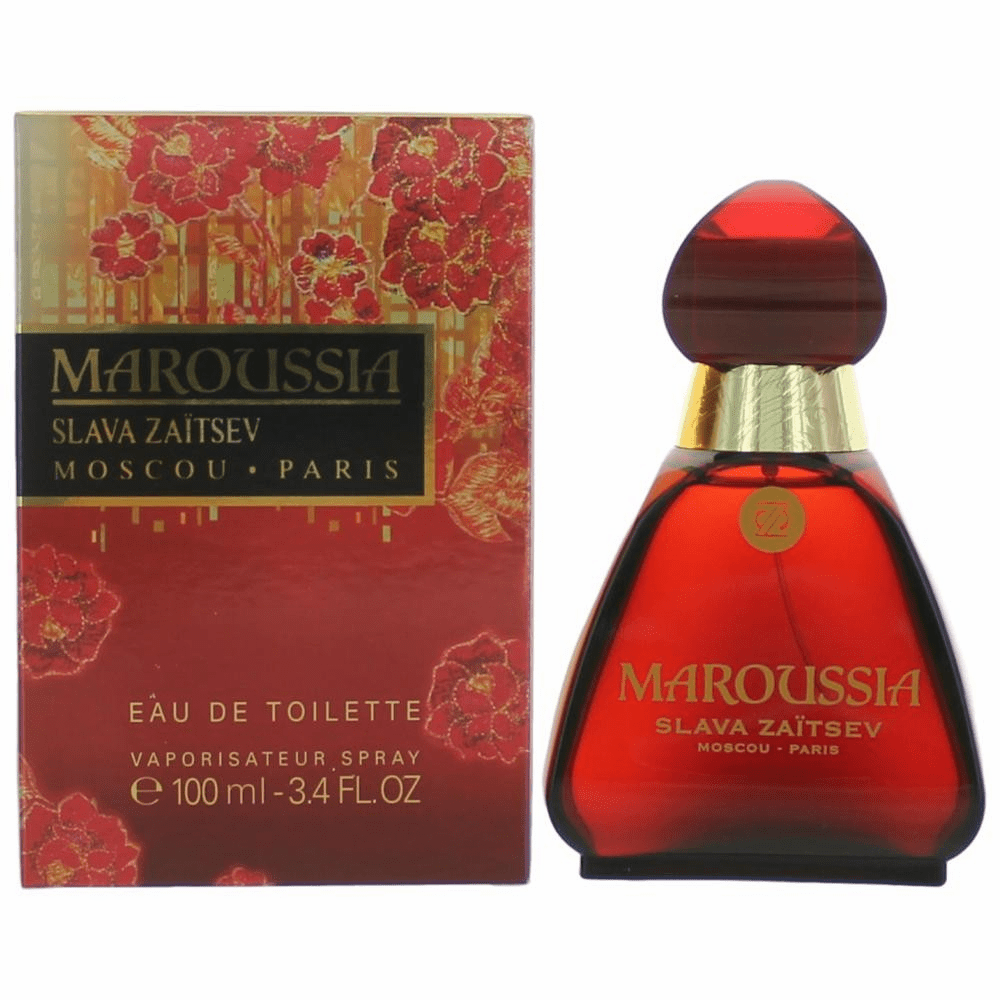 Maroussia by Slava Zaitsev, 3.4 oz Eau De Toilette Spray for Women