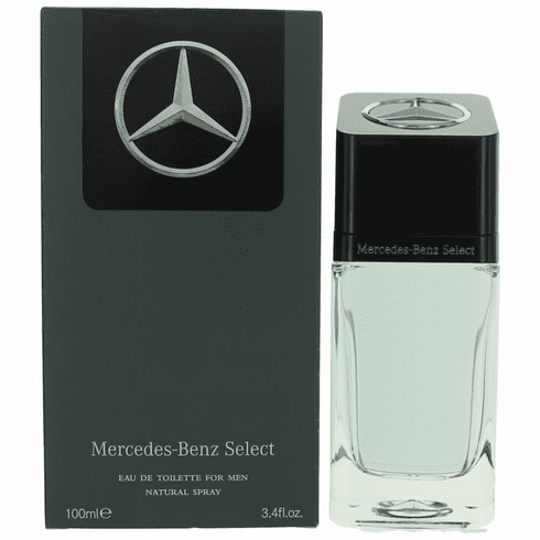 Mercedes Benz Select by Mercedes Benz, 3.4 oz Eau De Toilette Spray for Men