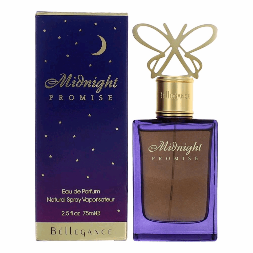 Midnight Promise by Bellegance, 2.5 oz Eau De Parfum Spray for Women