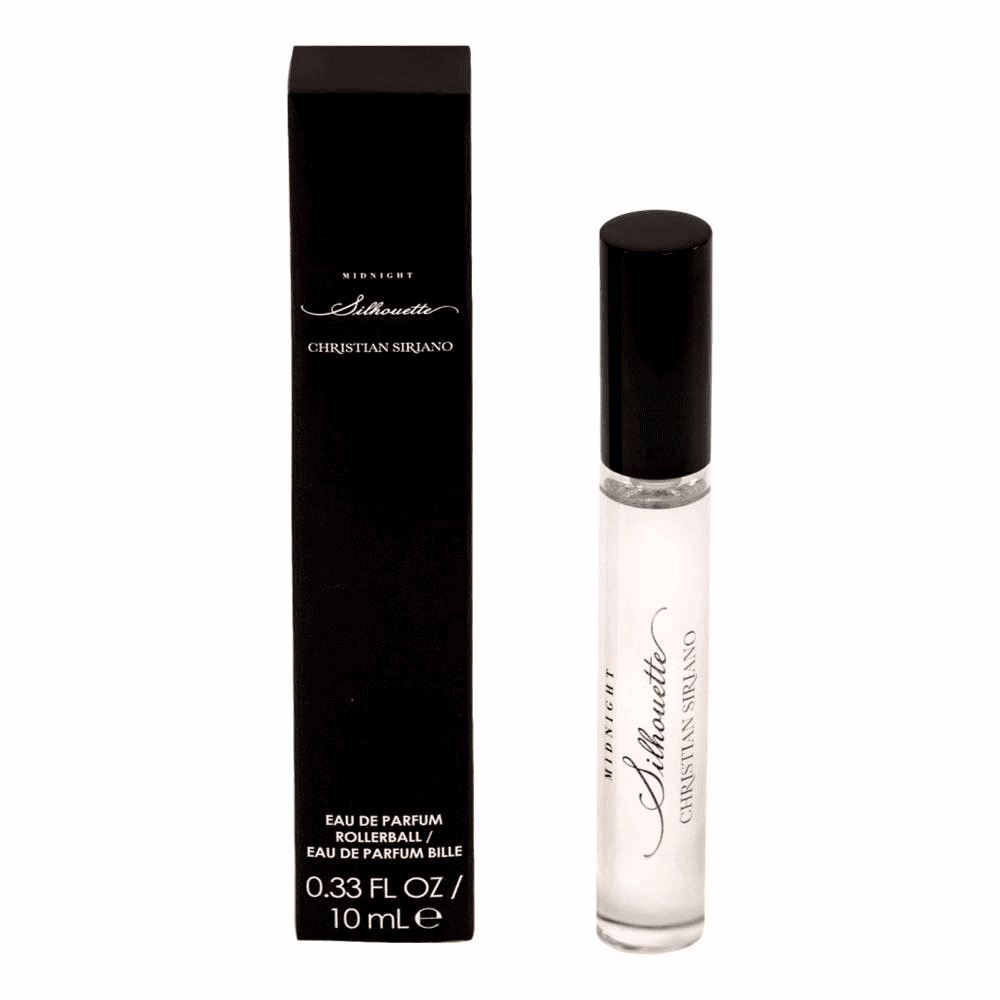 Midnight Silhouette by Christian Siriano, .33 oz Eau De Parfum Rollerball for Women