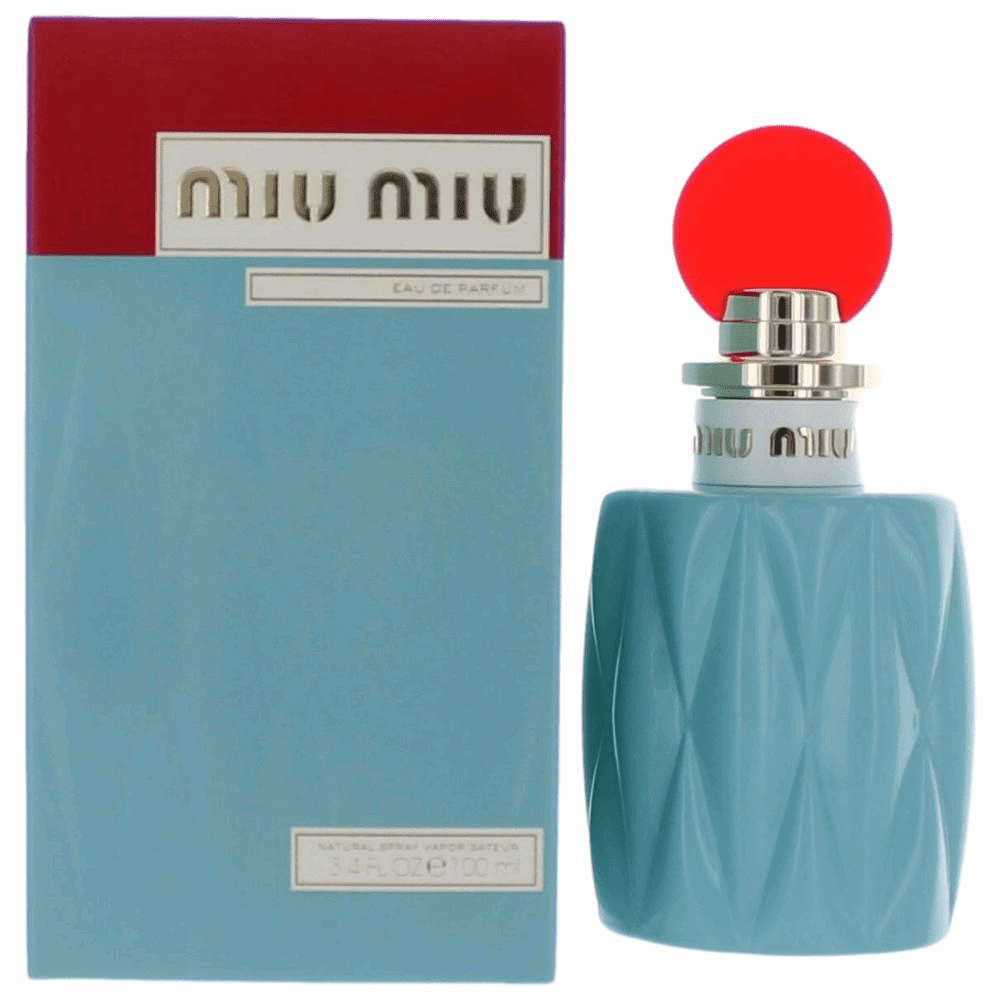 Miu Miu by Miu Miu, 3.4 oz Eau De Parfum Spray for Women