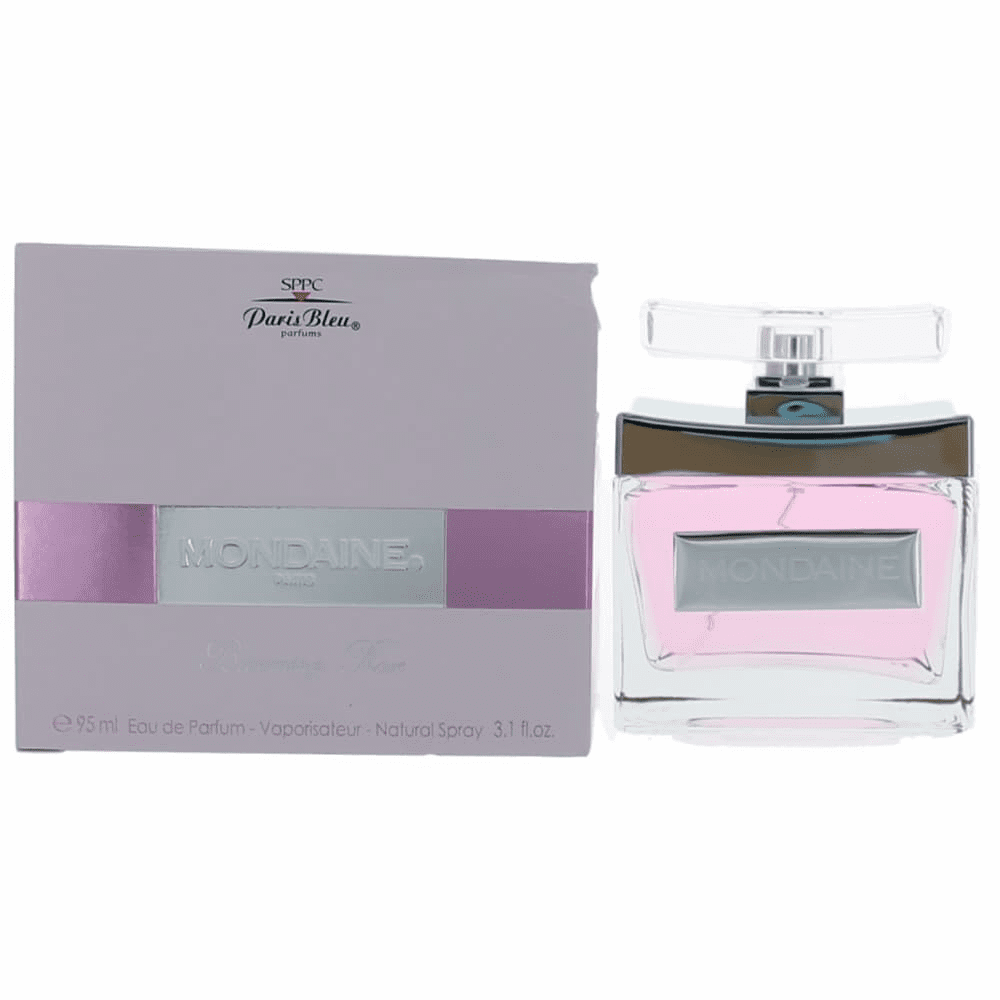 Mondaine Blooming Rose by Paris Bleu Parfums, 3.1 oz Eau De Parfum Spray for Women