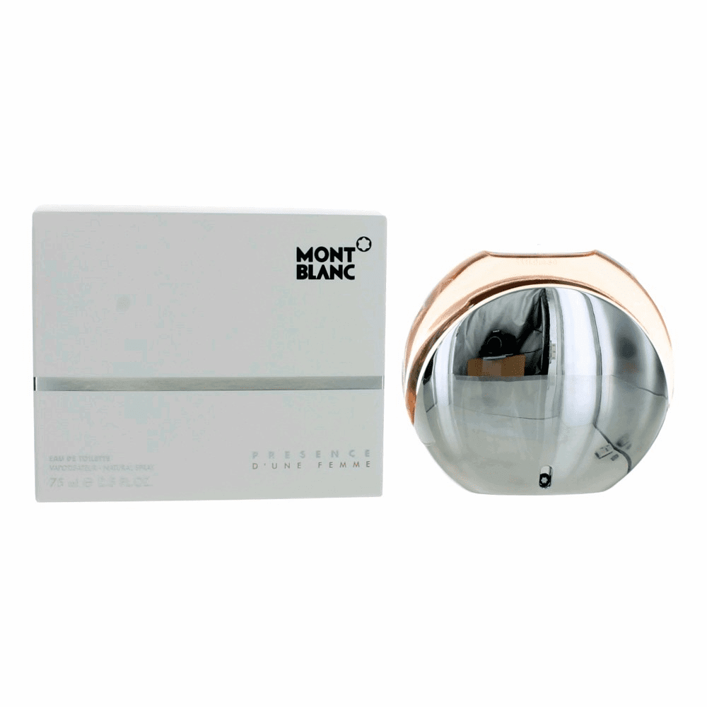 Mont Blanc Presence D'une Femme by Mont Blanc, 2.5 oz Eau De Toilette Spray for Women