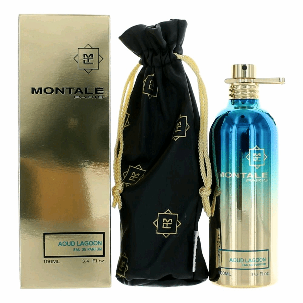 Montale Aoud Lagoon by Montale, 3.3 oz Eau De Parfum Spray for Unisex