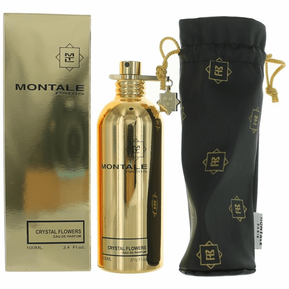 Montale Crystal Flowers by Montale, 3.4 oz Eau De Parfum Spray for Unisex