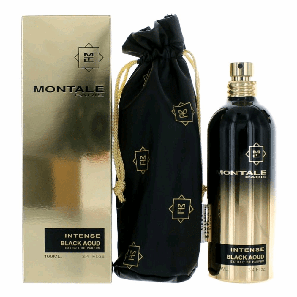 Montale Intense Black Aoud by Montale, 3.4 oz Extrait De Parfum Spray for Unisex