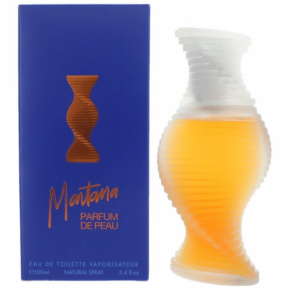 Montana Parfum de Peau by Claude Montana, 3.4 oz Eau De Toilette Spray for Women