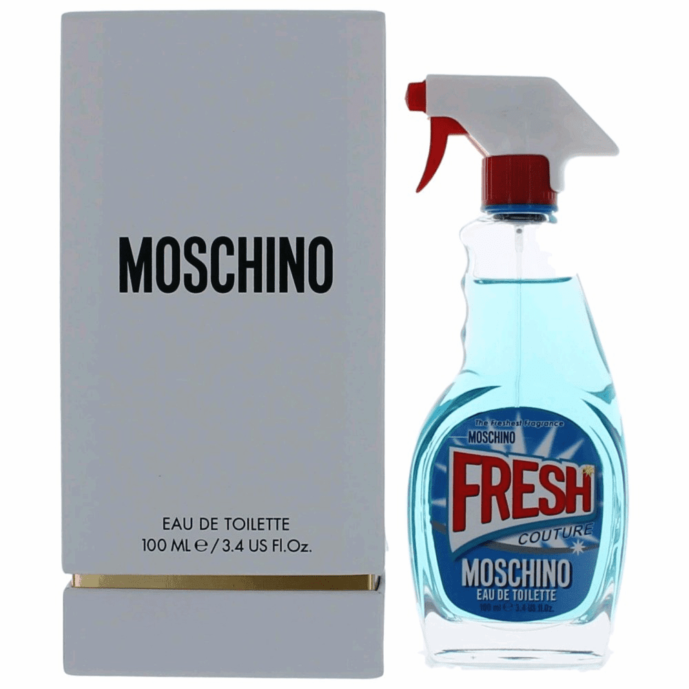 Moschino Fresh Couture by Moschino, 3.4 oz Eau De Toilette Spray for Women