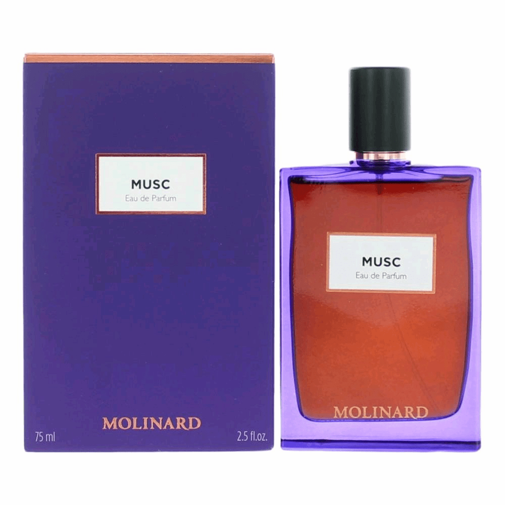 Musc by Molinard, 2.5 oz Eau De Parfum Spray for Unisex