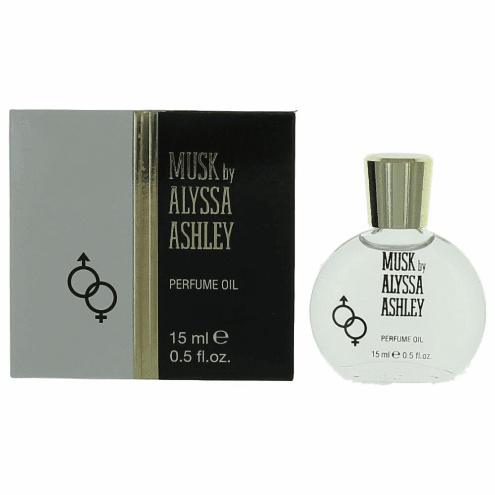 Musk by Alyssa Ashley, .5 oz Perfume Oil for Women