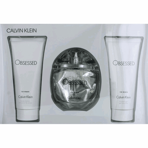 Obsessed by Calvin Klein, 3 Piece Gift Set for Women