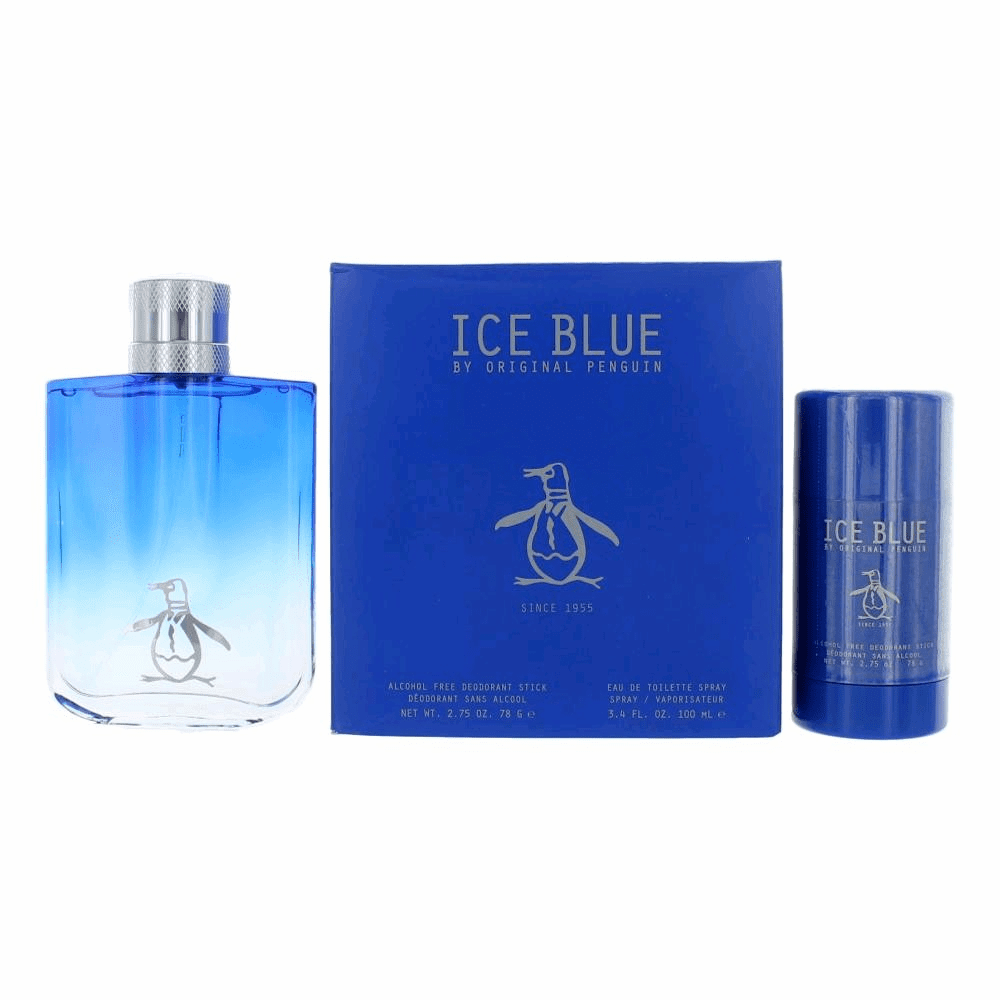 Original Penguin Ice Blue by Munsingwear, 2 Piece Gift Set for Women