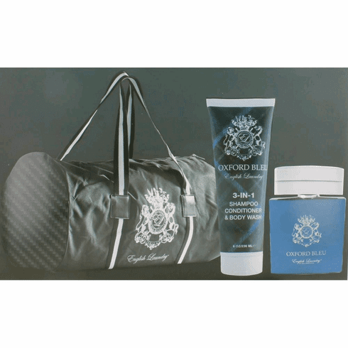 Oxford Bleu by English Laundry, 3 Piece Gift Set for Men