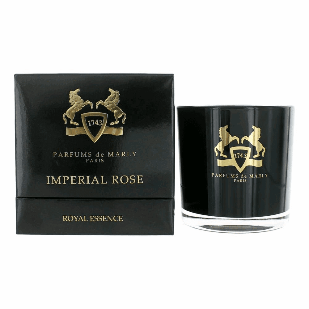 Parfums de Marly Imperial Rose by Parfums de Marly, 10.5 oz Perfumed Candle