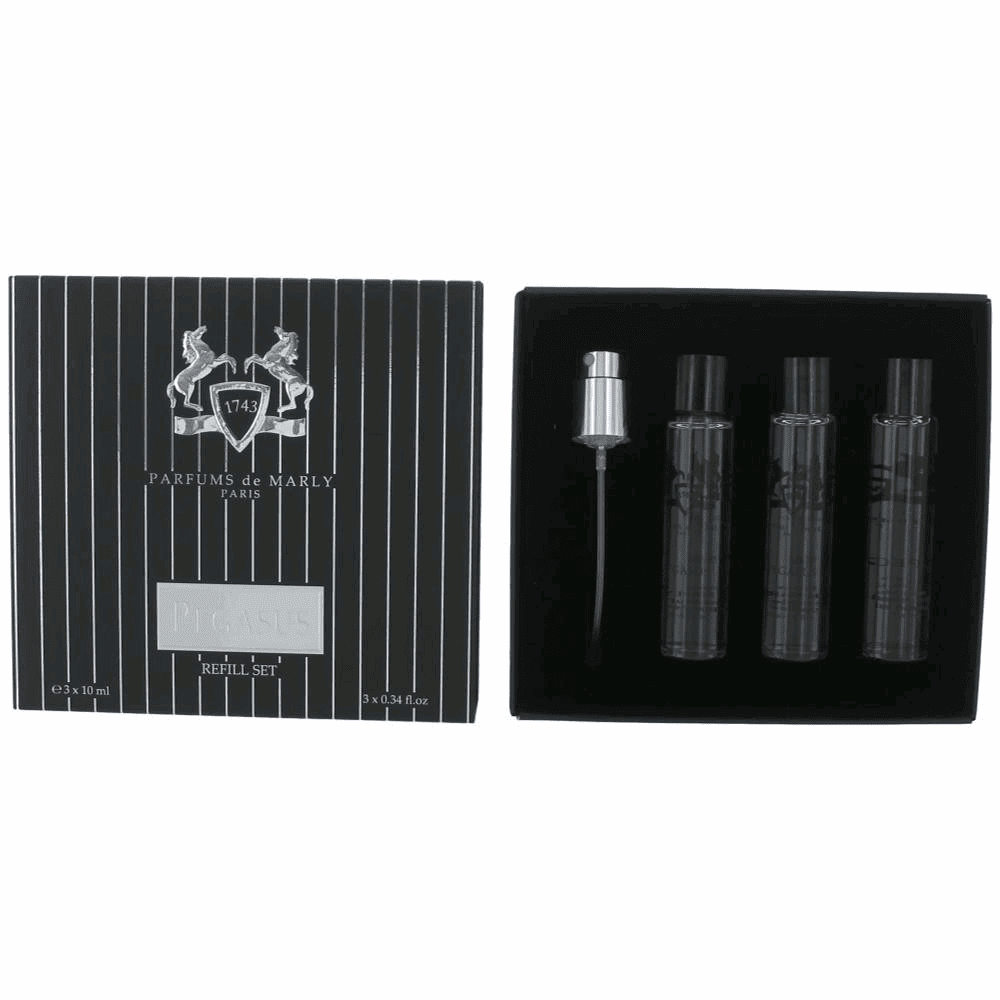 Parfums de Marly Pegasus by Parfums de Marly, 3 Piece Refill Set for Men