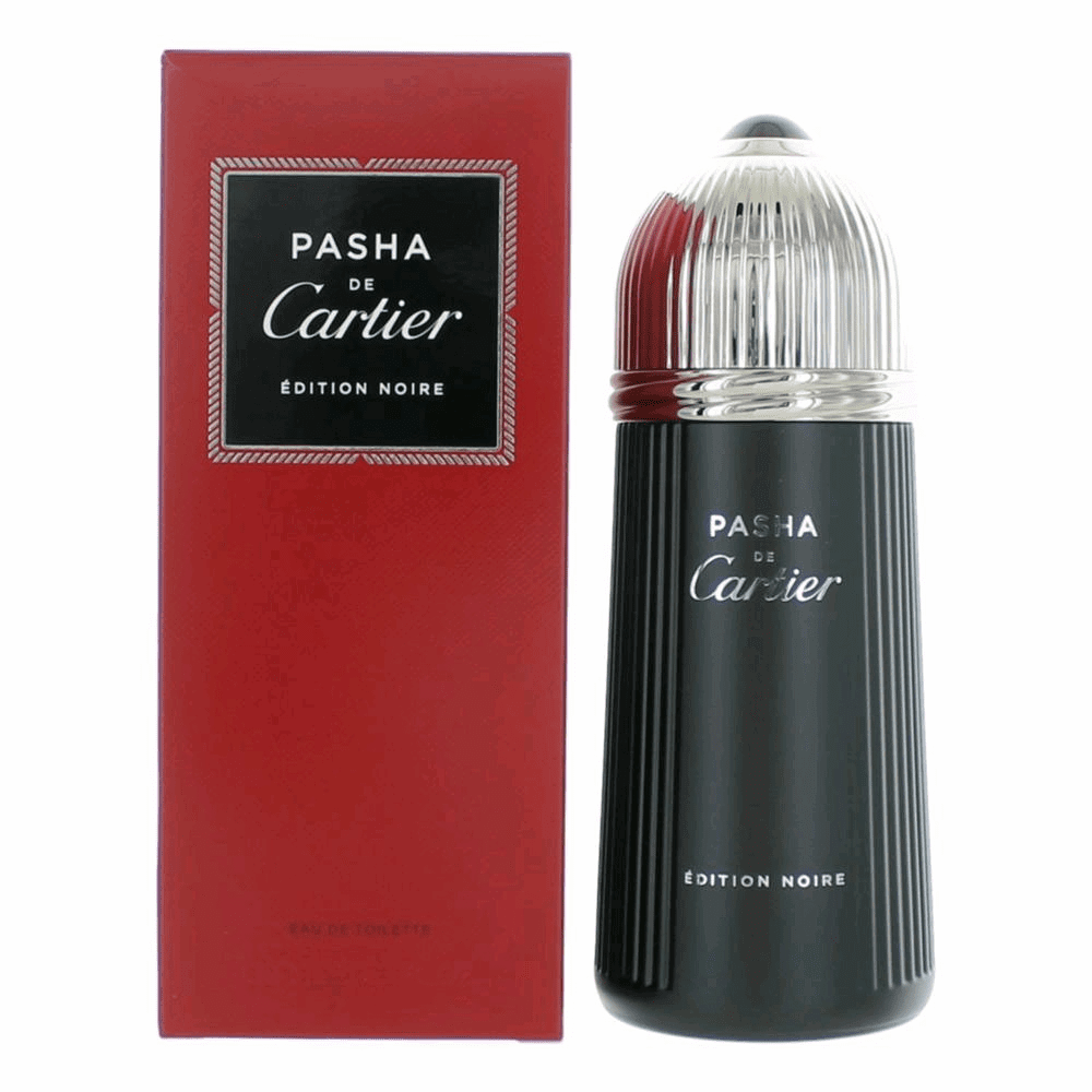 Pasha de Cartier Edition Noire by Cartier, 5 oz Eau De Toilette Spray for Men