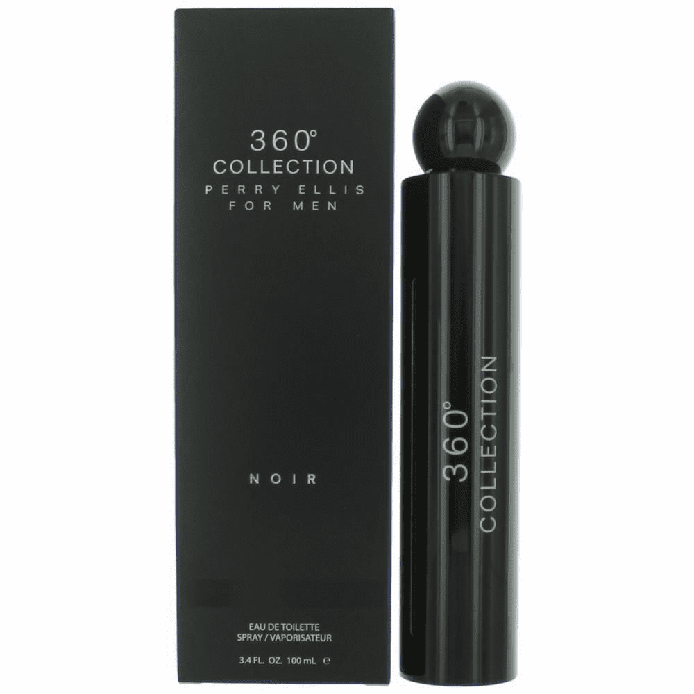Perry Ellis 360 Collection Noir by Perry Ellis, 3.4 oz Eau De Toilette Spray for Men