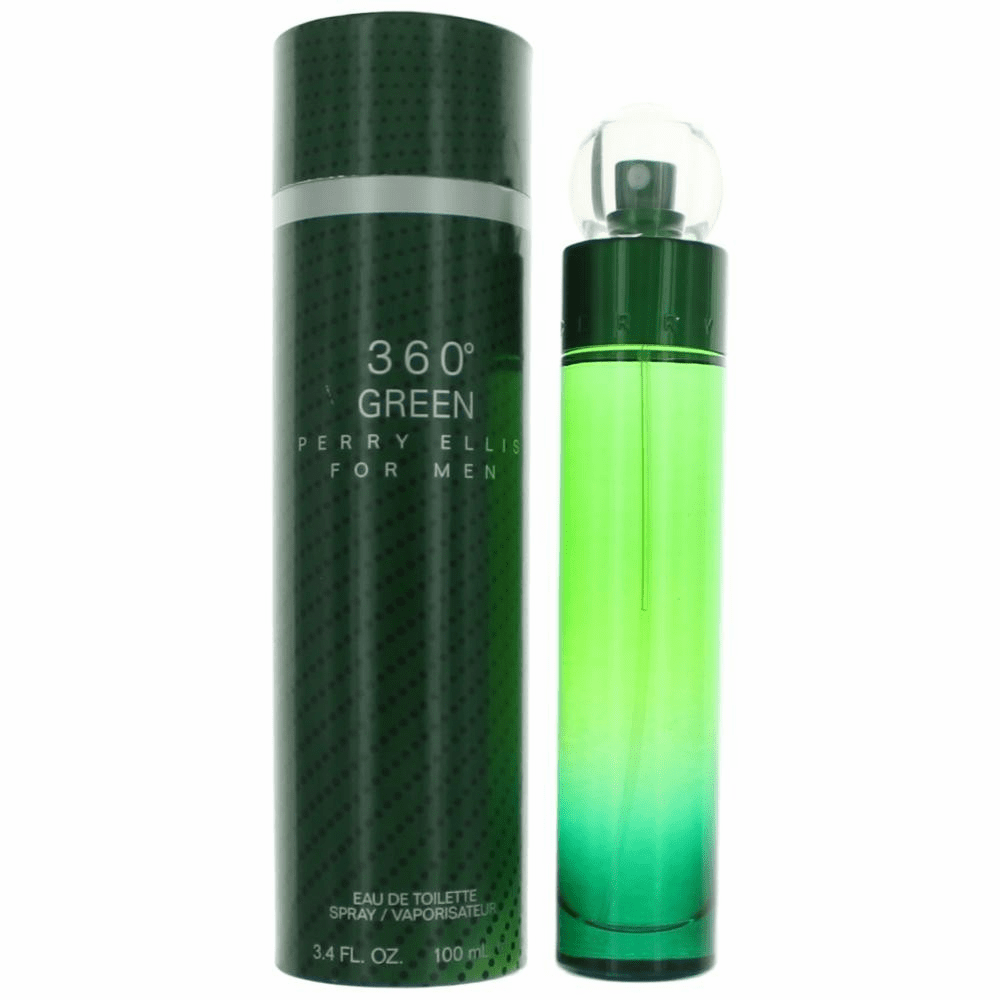 Perry Ellis 360 Green by Perry Ellis, 3.4 oz Eau De Toilette Spray for Men