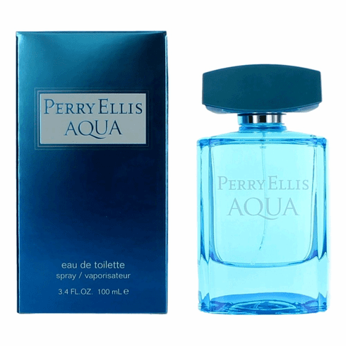 Perry Ellis Aqua by Perry Ellis, 3.4 oz Eau De Toilette Spray for Men
