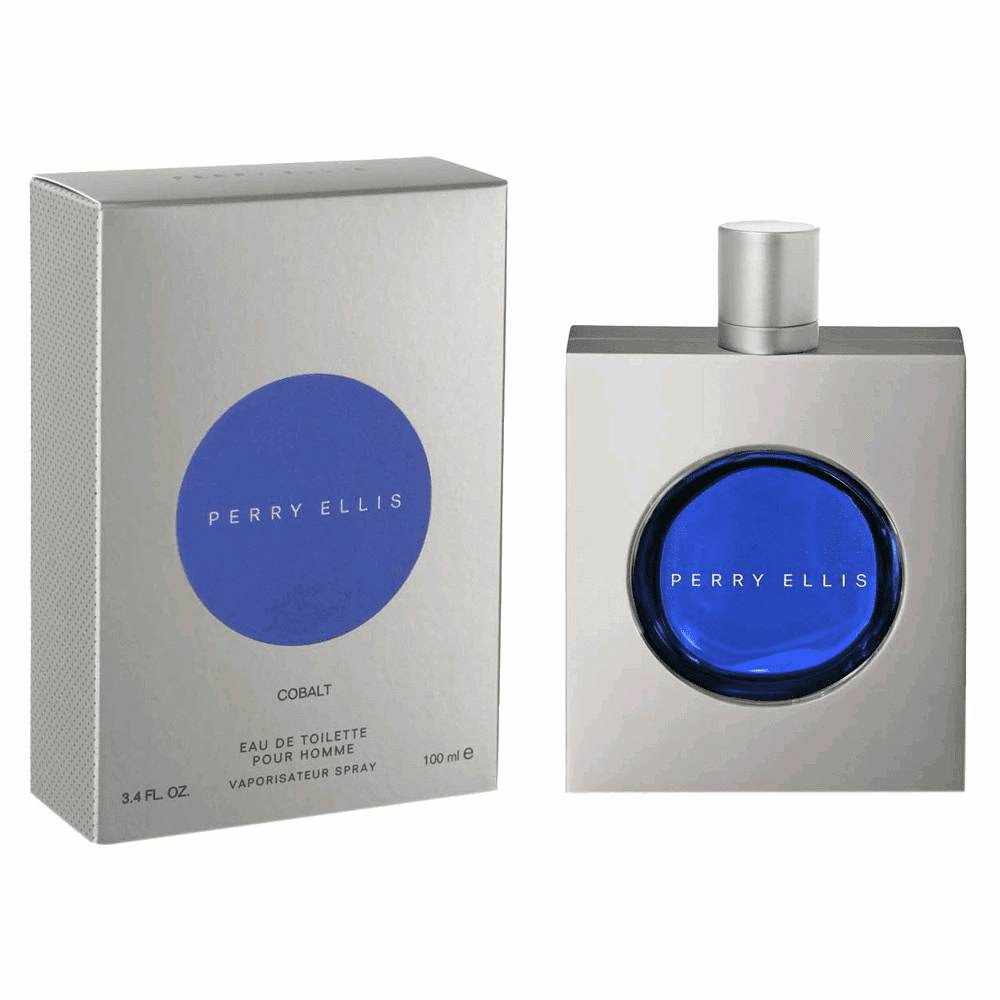 Perry Ellis Cobalt by Perry Ellis, 3.4 oz Eau De Toilette Spray for Men
