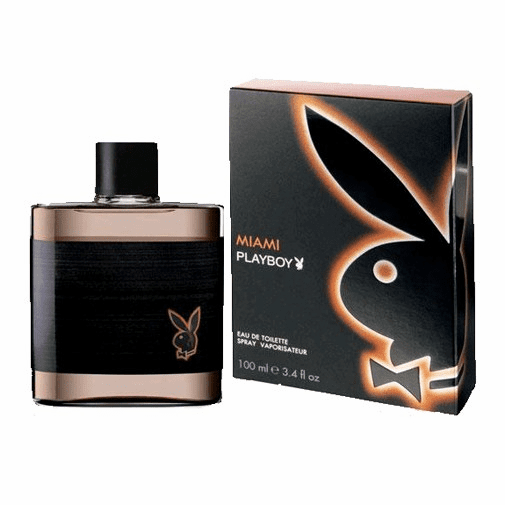 Playboy Miami by Coty, 3.4 oz Eau De Toilette Spray for Men