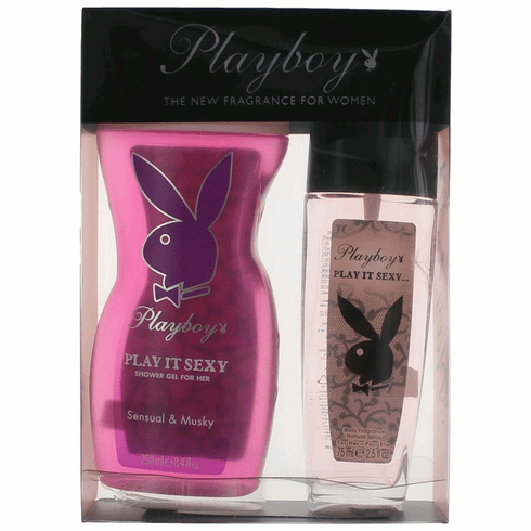 Playboy Play It Sexy by Coty, 2 Piece Gift Set for Women