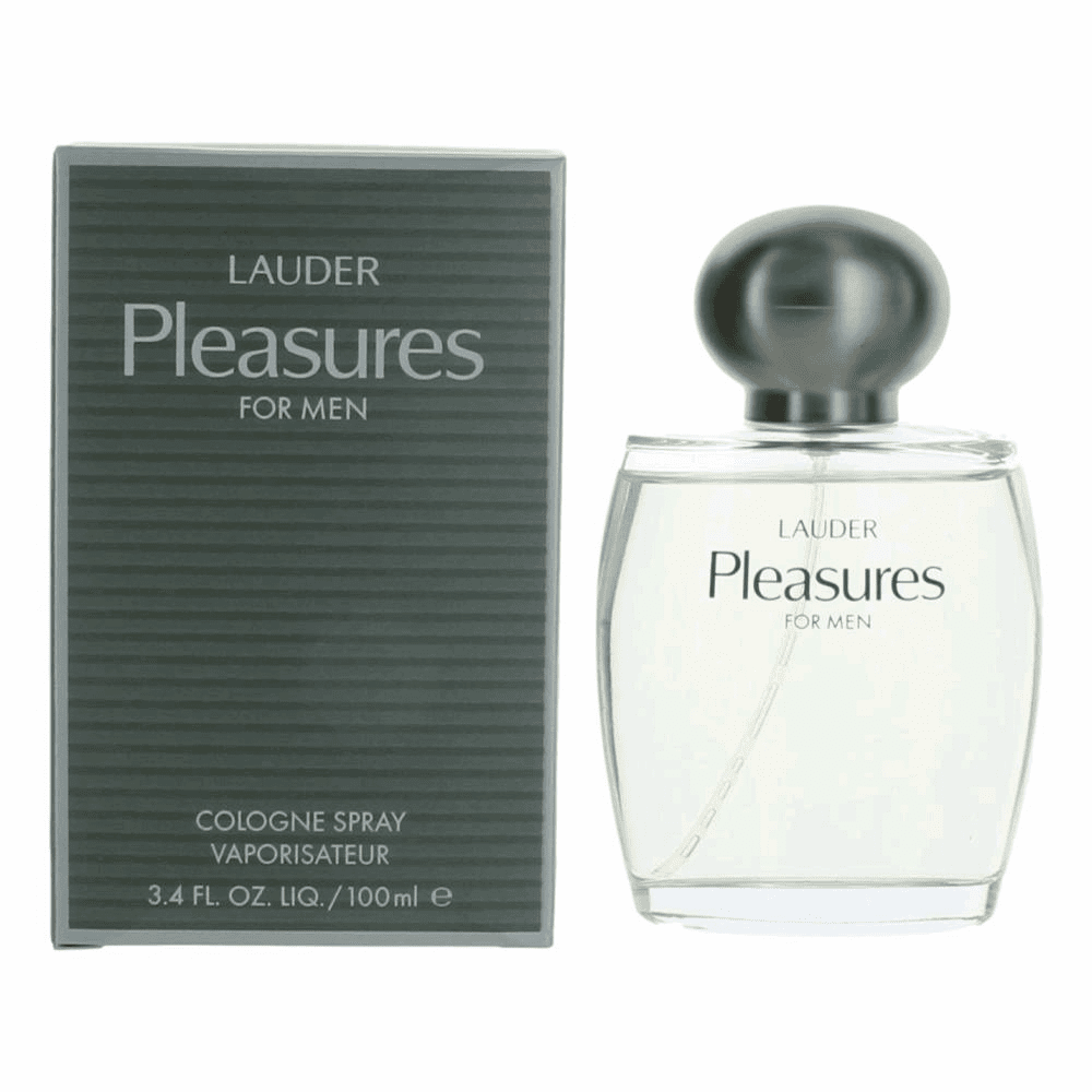 Pleasures for Men by Estee Lauder, 3.4 oz Cologne Spray for Men