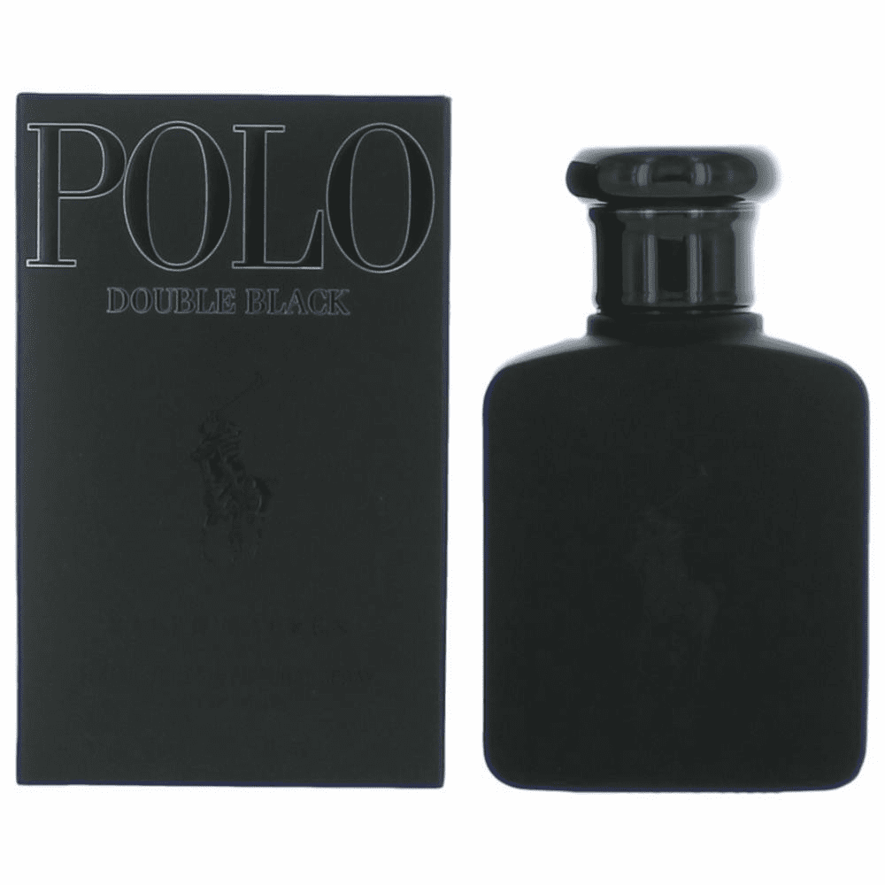 Polo Double Black by Ralph Lauren, 2.5 oz Eau De Toilette Spray for Men