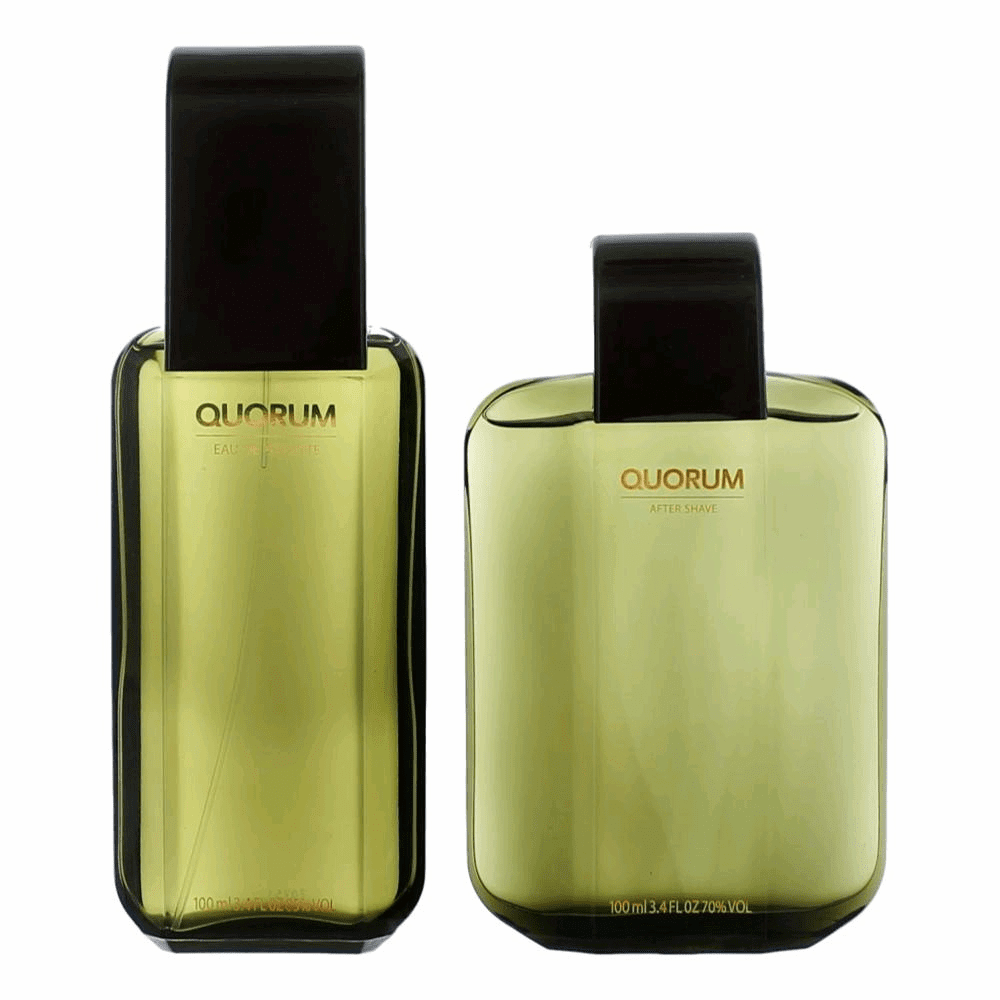 Quorum by Puig, 2 Piece Gift Set for Men