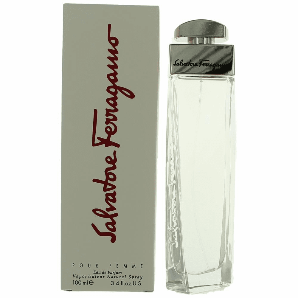 Salvatore Ferragamo by Salvatore Ferragamo, 3.4 oz Eau De Parfum Spray for Women