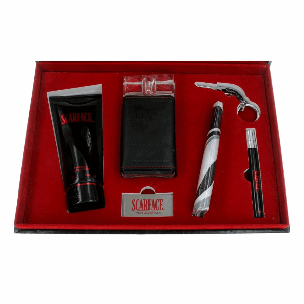 Scarface by Universal Studios, 6 Piece Gift Set  for Men